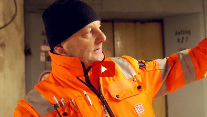 Videojournalist Marcus Mötz über den Leipziger Hauptbahnhof hinter den Kulissen