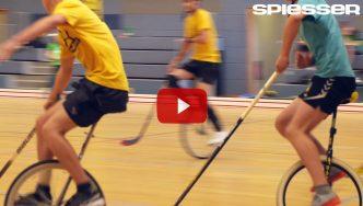 Videojournalist für den SPIESSER über Einradhockey in Leipzig
