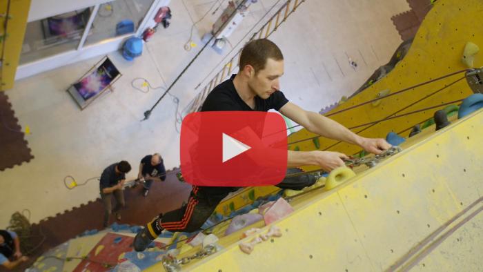Videoproducer Marcus Mötz über das Kletterzentrum in Chemnitz